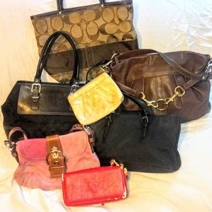 Coach Bag Bundle DIY Rehab Restore Lot